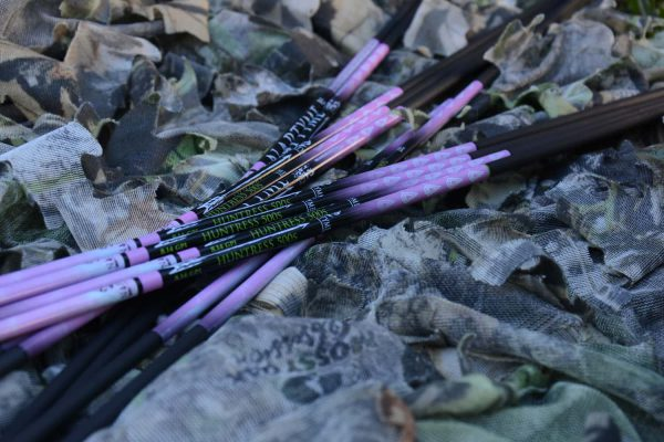 500 spine huntress naptyme carbon arrow shaft premium hunting